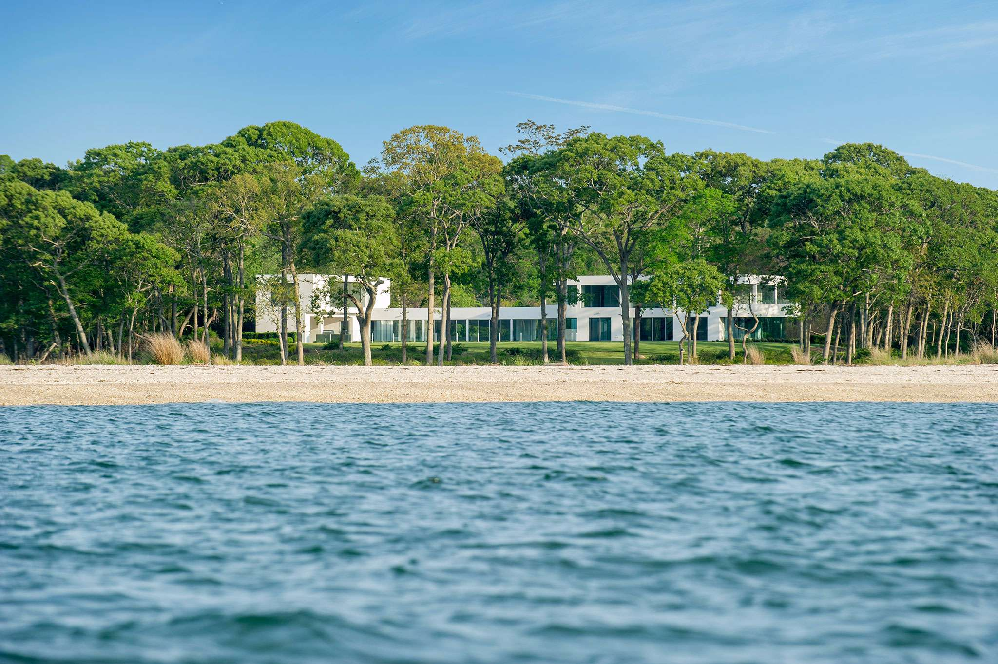 Single Family Home for Sale at Modern At The Point 6 Seaponack Drive, Sag Harbor, New York